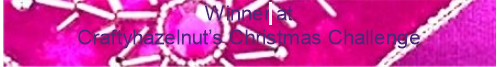Winners - please take this to share on your blog