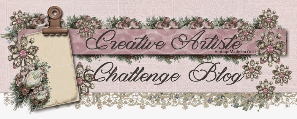 Creative Artiste Mixed Media Challenge Blog